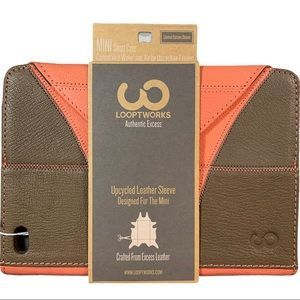 NEW Looptworks Recycled Leather  iPad Mini Case